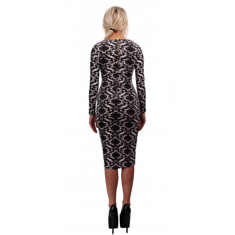 Midi Dresses Move over mini dresses, there's a new style in town and it's all about the midi this season. Fuel your black dress obsession with a bodycon midi or feel ultra-feminine in a lace knee length.