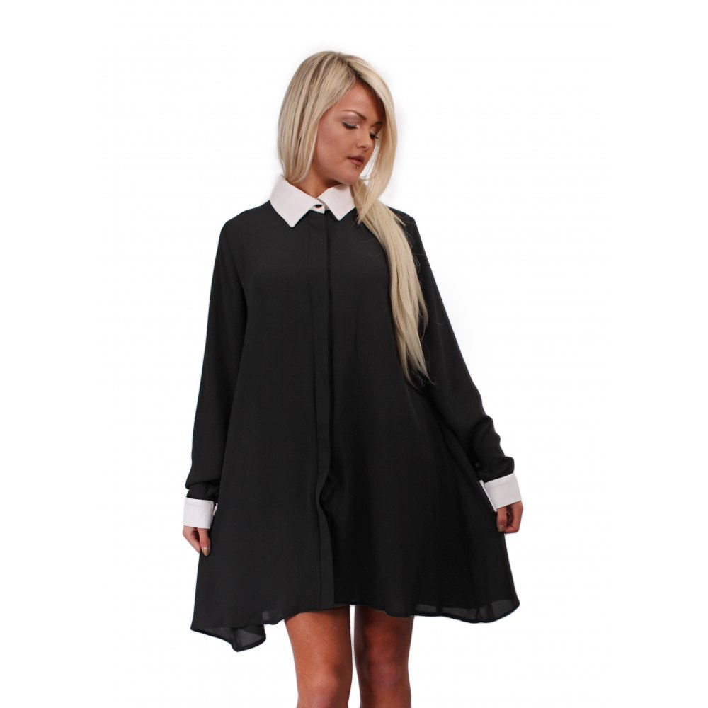 Brilliant Black Dress Shirts For Women Images Amp Pictures  Becuo