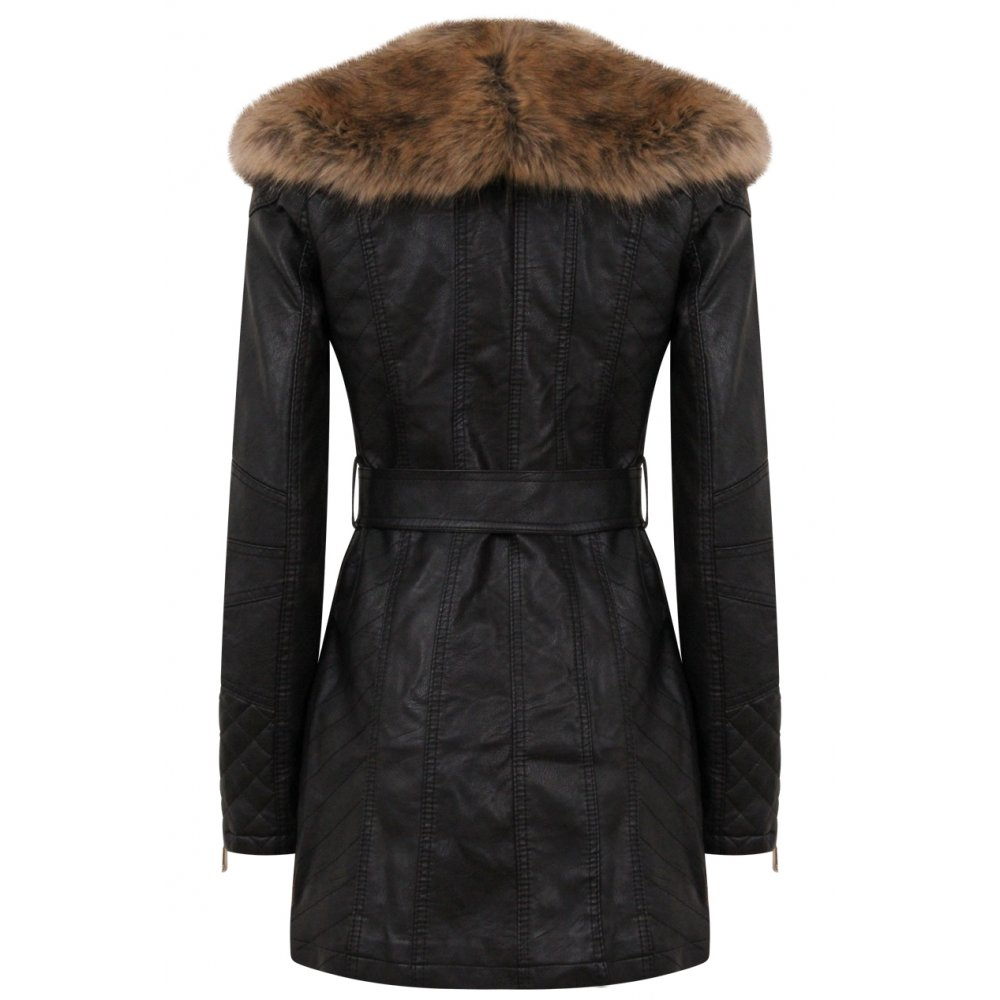 how to clean faux fur collar at home