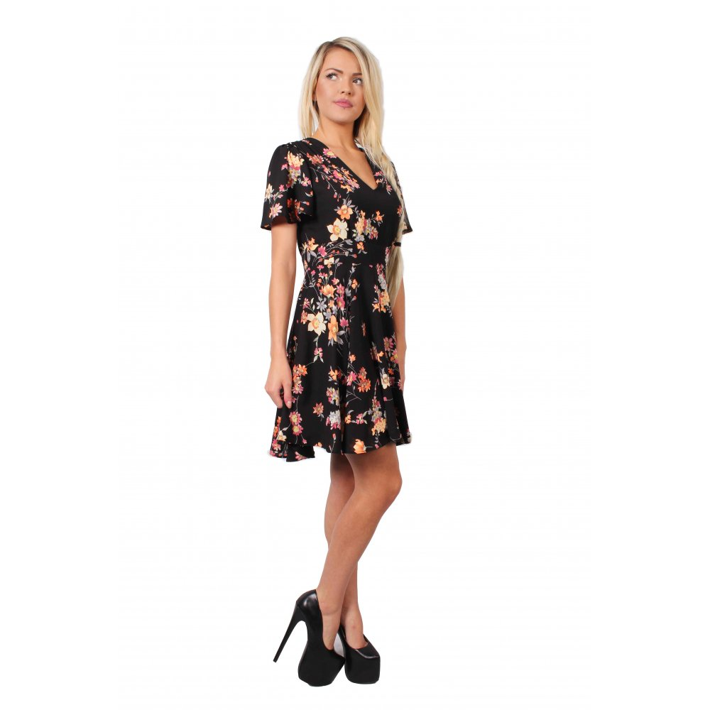 eab273f976 Black Floral Dress · Black Floral Dress ...