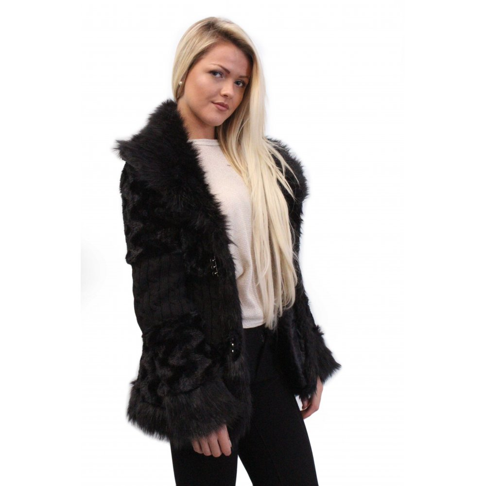 Shop for black fur coat online at Target. Free shipping on purchases over $35 and save 5% every day with your Target REDcard.