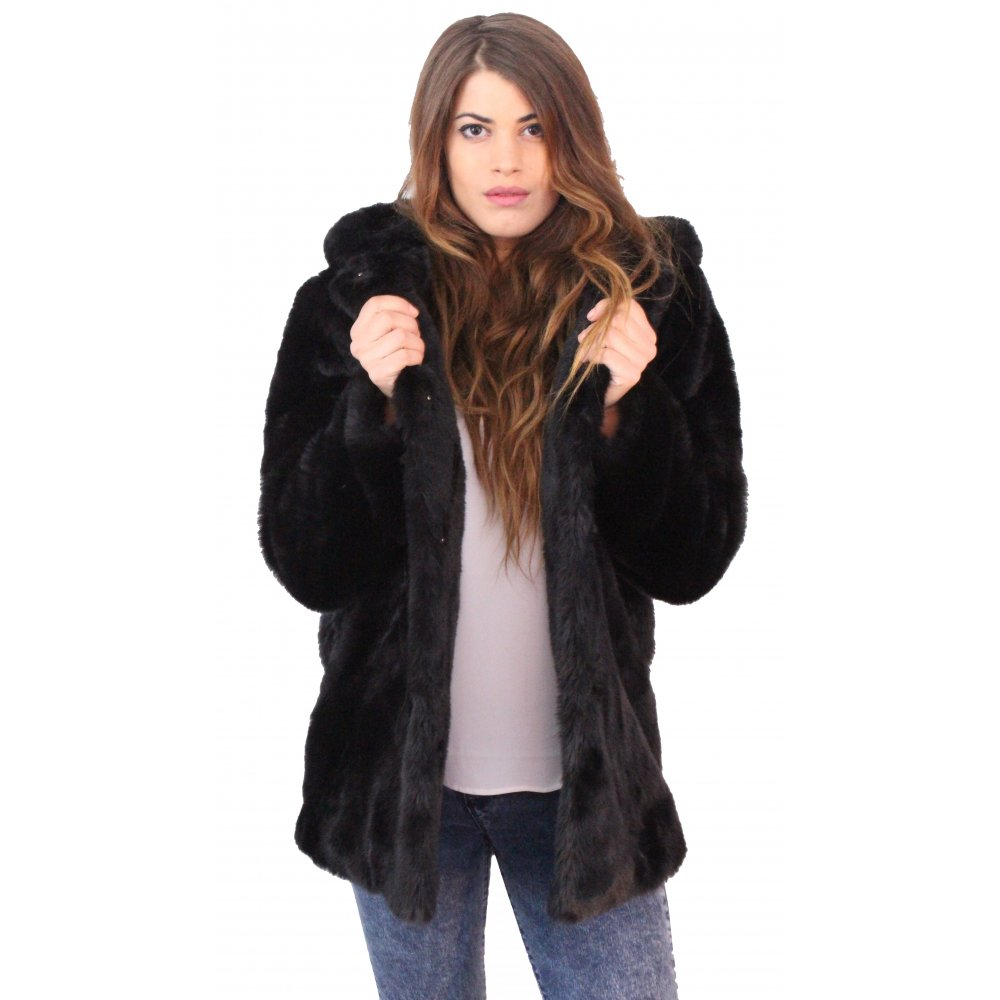 Shop for black faux fur jacket online at Target. Free shipping on purchases over $35 and save 5% every day with your Target REDcard.
