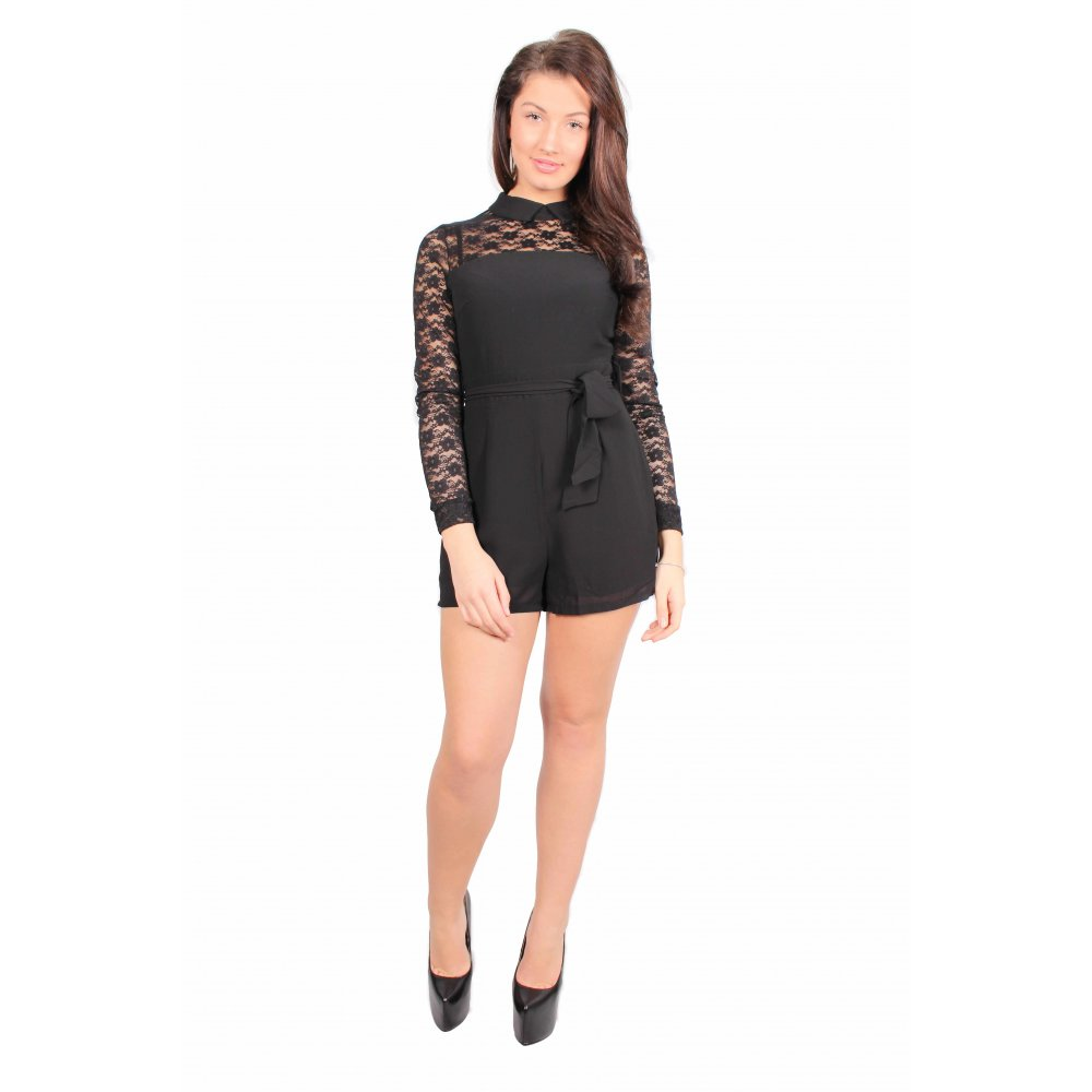 neyschelethel.ga: black playsuit. From The Community. Miss ord Women Deep V Button Long Sleeve Elegant Playsuit 2 pcs Sets. by Miss ord. $ - $ $ 33 $ 39 99 Prime. Some sizes/colors are Prime eligible. 5 out of 5 stars 9. See Details. For every 2 items purchased, 6% off 2 See Details.