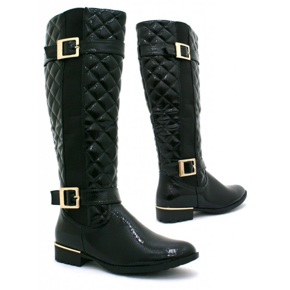 Free shipping BOTH ways on Boots, Black, Women, from our vast selection of styles. Fast delivery, and 24/7/ real-person service with a smile. Click or call