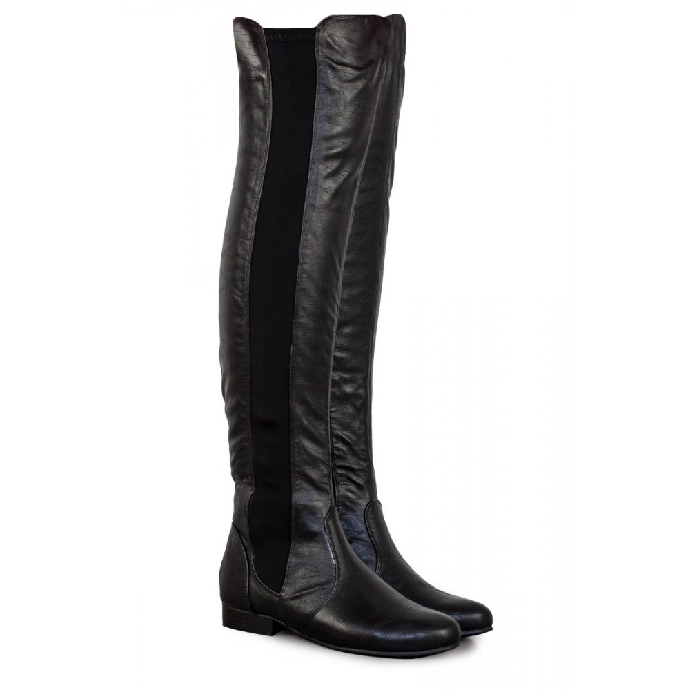 Find womens over the knee leather boots at ShopStyle. Shop the latest collection of womens over the knee leather boots from the most popular stores - Fendi Rockoko Logo-jacquard Stretch-knit And Leather Over-the-knee Boots - Brown $1, Get a Sale Alert Free Shipping $