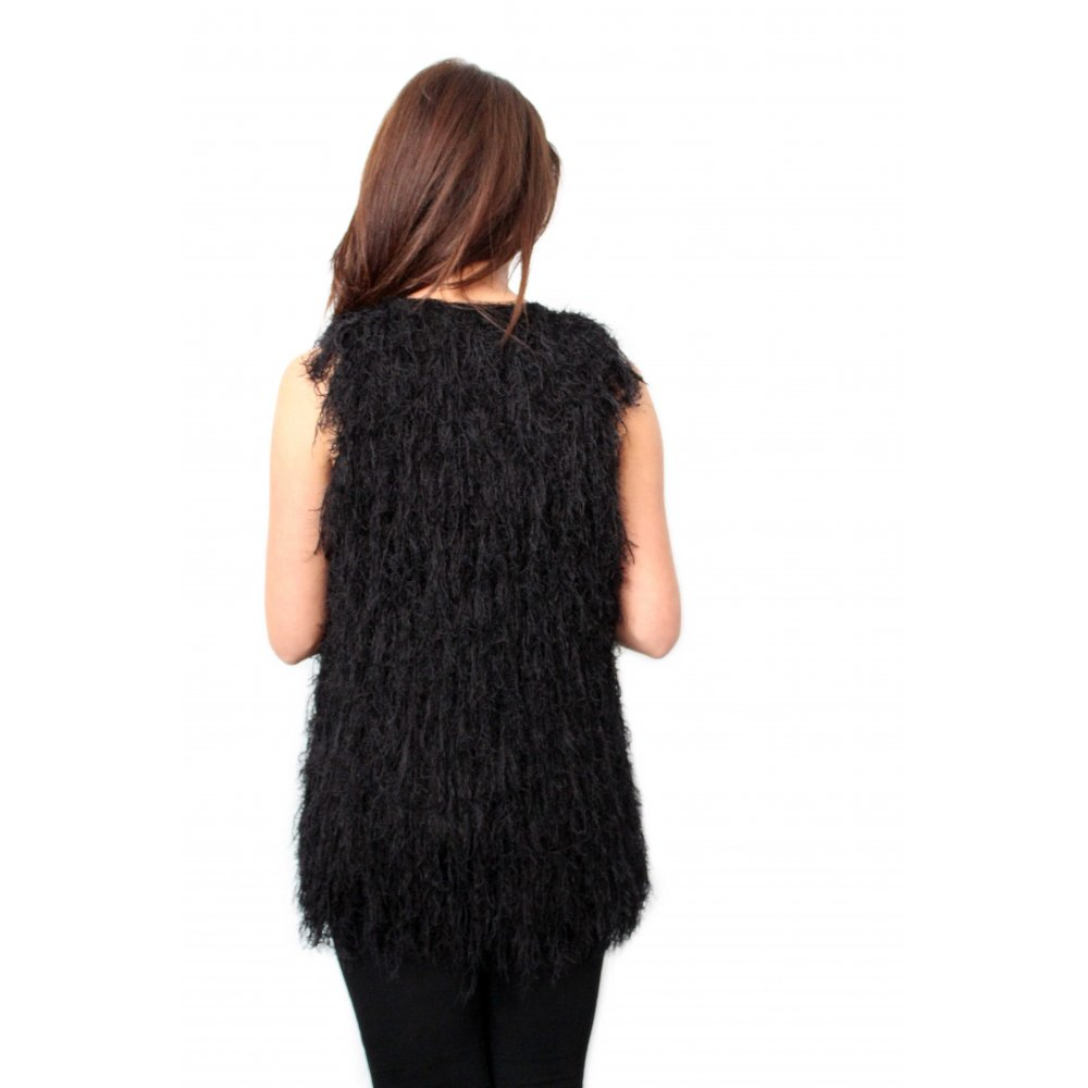 Find black fur waistcoats at ShopStyle. Shop the latest collection of black fur waistcoats from the most popular stores - all in one place.