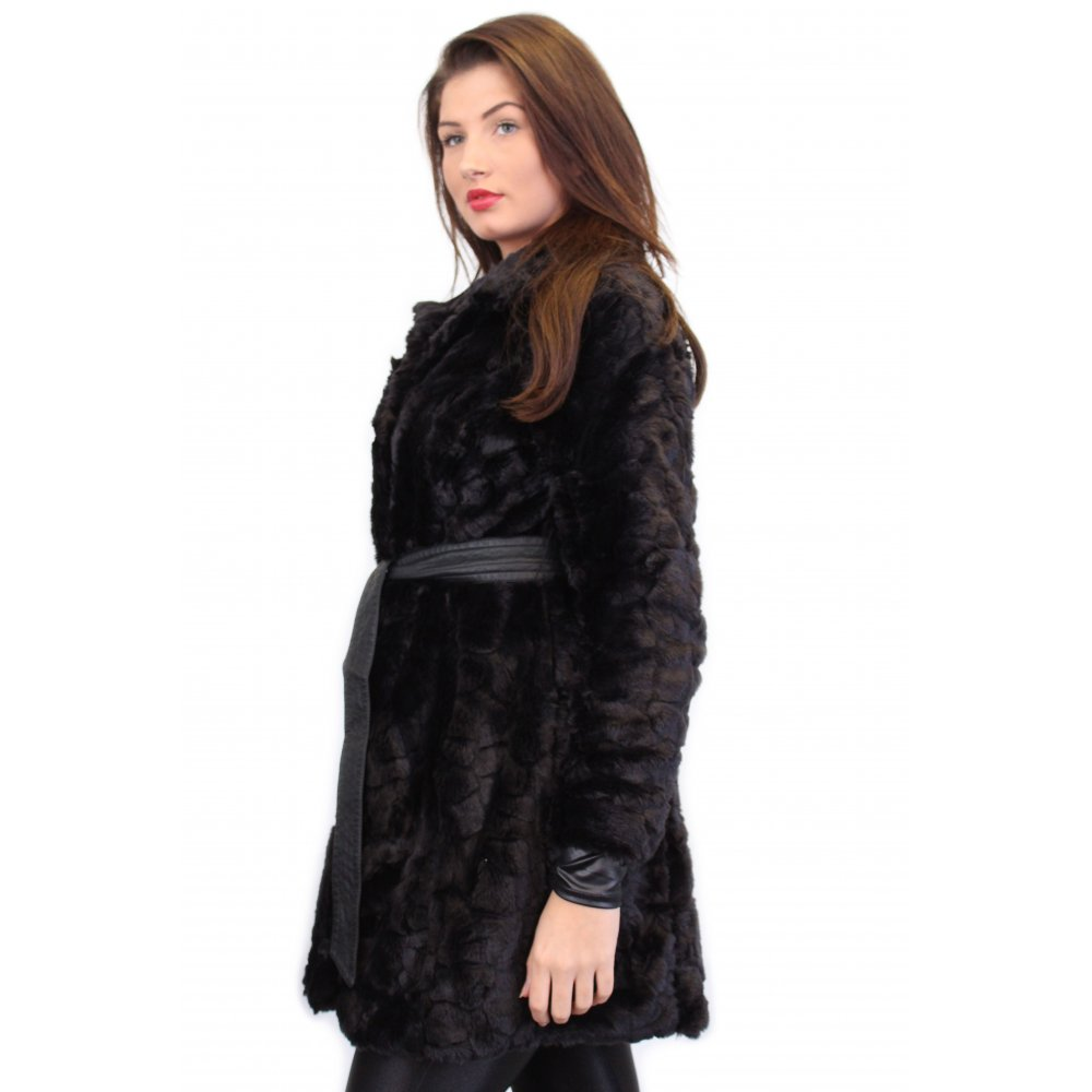 Look ultra-fashionable and sophisticated in our black faux fur jackets. For an edgy statement, give our coats in vibrant colors a try. Pair them with elegant dresses or casual tops to complete your look. Available in a variety of silhouettes, these coats will complement every body type.