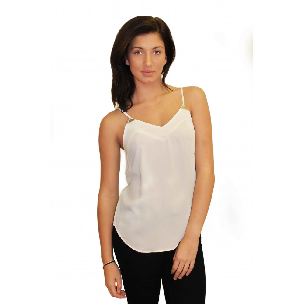 Cream Cami Top from Parisia Fashion
