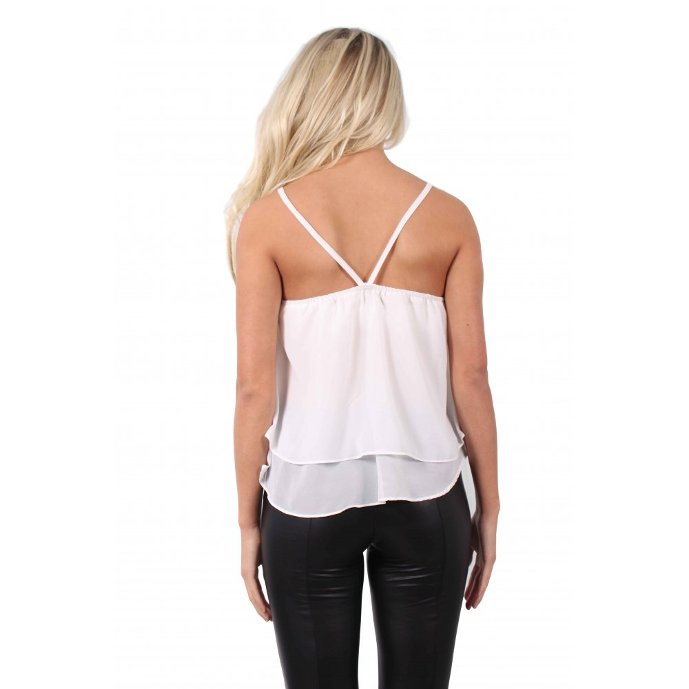Find womens cream camisole top at ShopStyle. Shop the latest collection of womens cream camisole top from the most popular stores - all in one place.