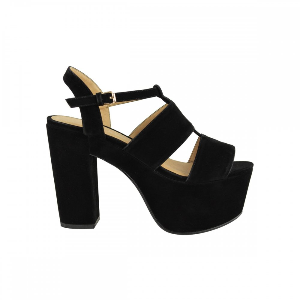Walk tall in pretty pointed stiletto high heels, block heels, strappy sandals or stand out from the crowd with a pair of platforms. Office Holiday Wedge Espadrilles Nude Kid Suede £ Office Hercules Cross Over Platforms Black Nubuck £