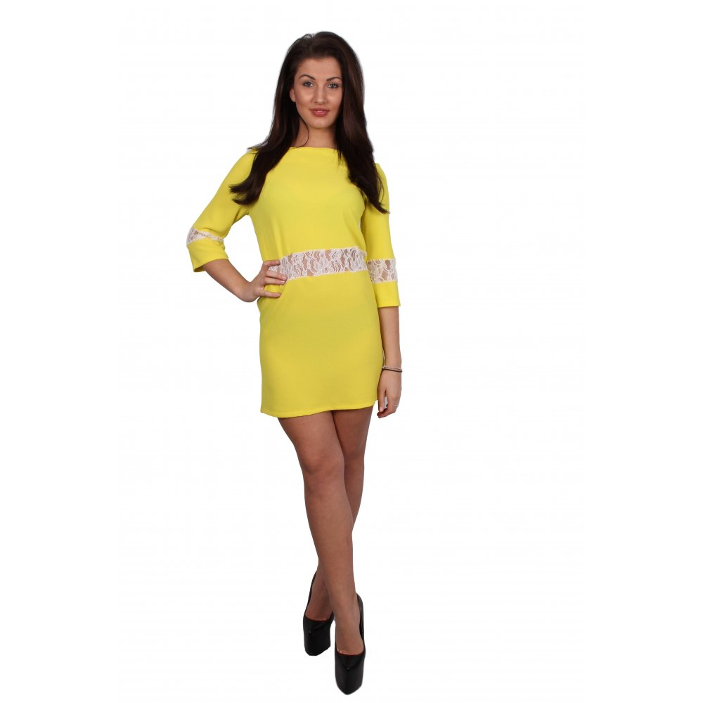 Yellow Dress Sleeves