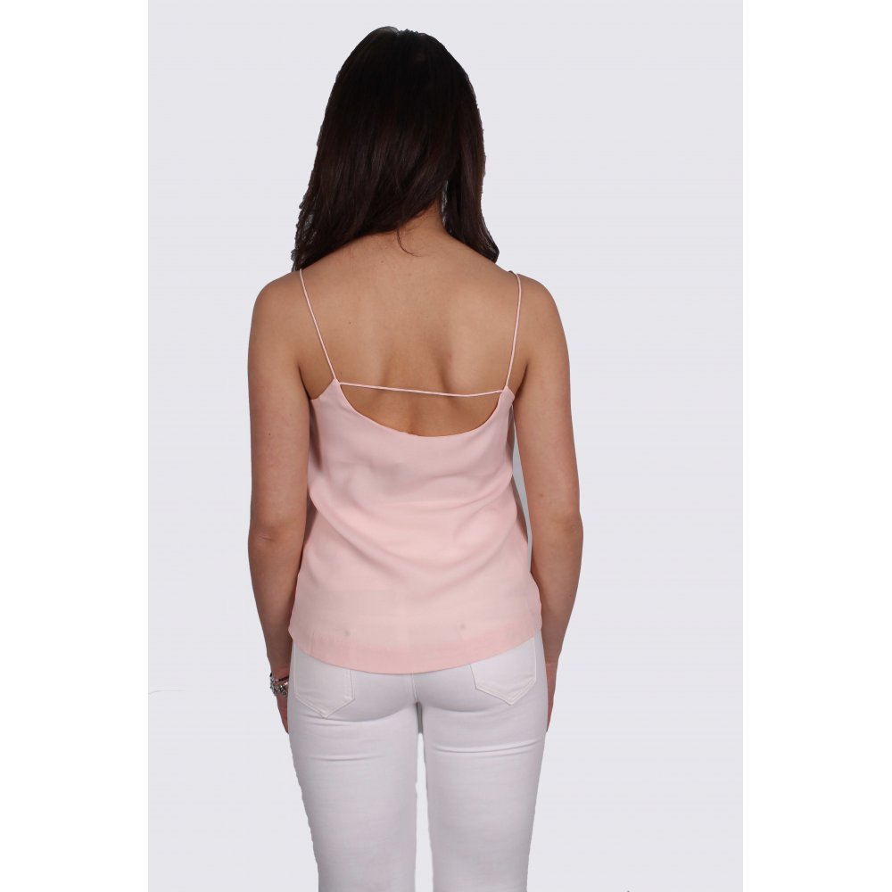 8eb3d6634c1253 Erica Pale Pink Camisole Top From Parisia