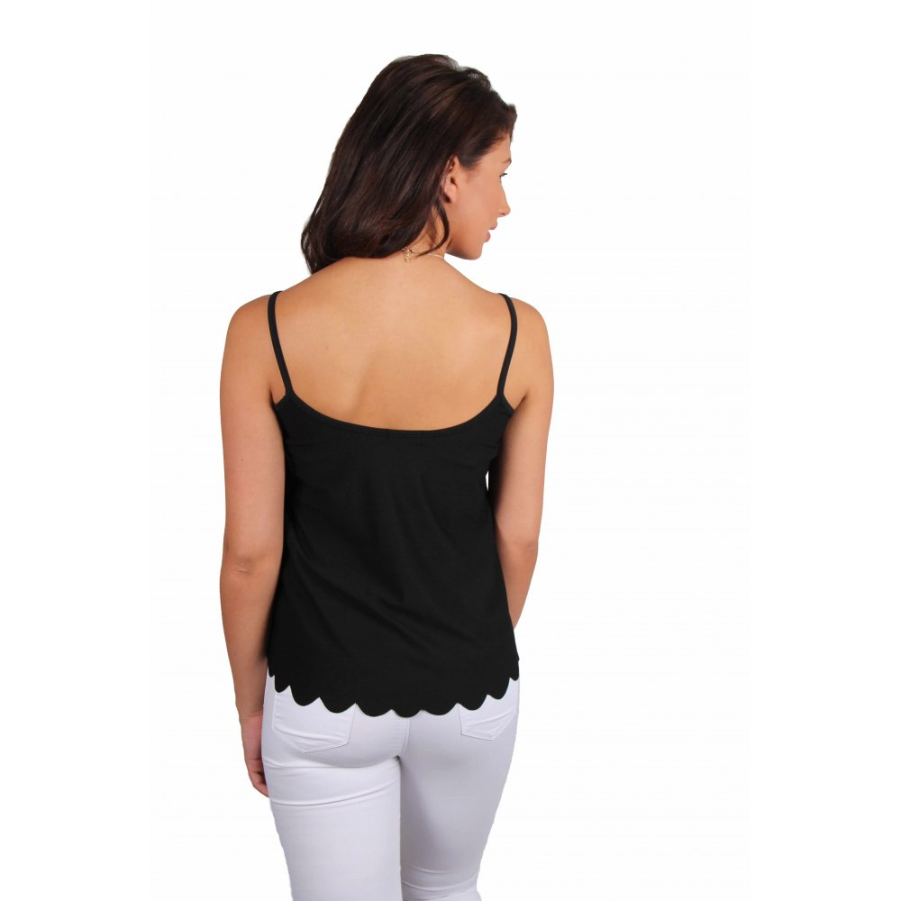 Shop black camisole top at Neiman Marcus, where you will find free shipping on the latest in fashion from top designers.