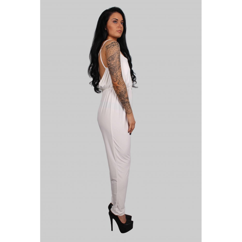 33db083e2bb Gabby White Fitted Jumpsuit · Gabby White Fitted Jumpsuit ...