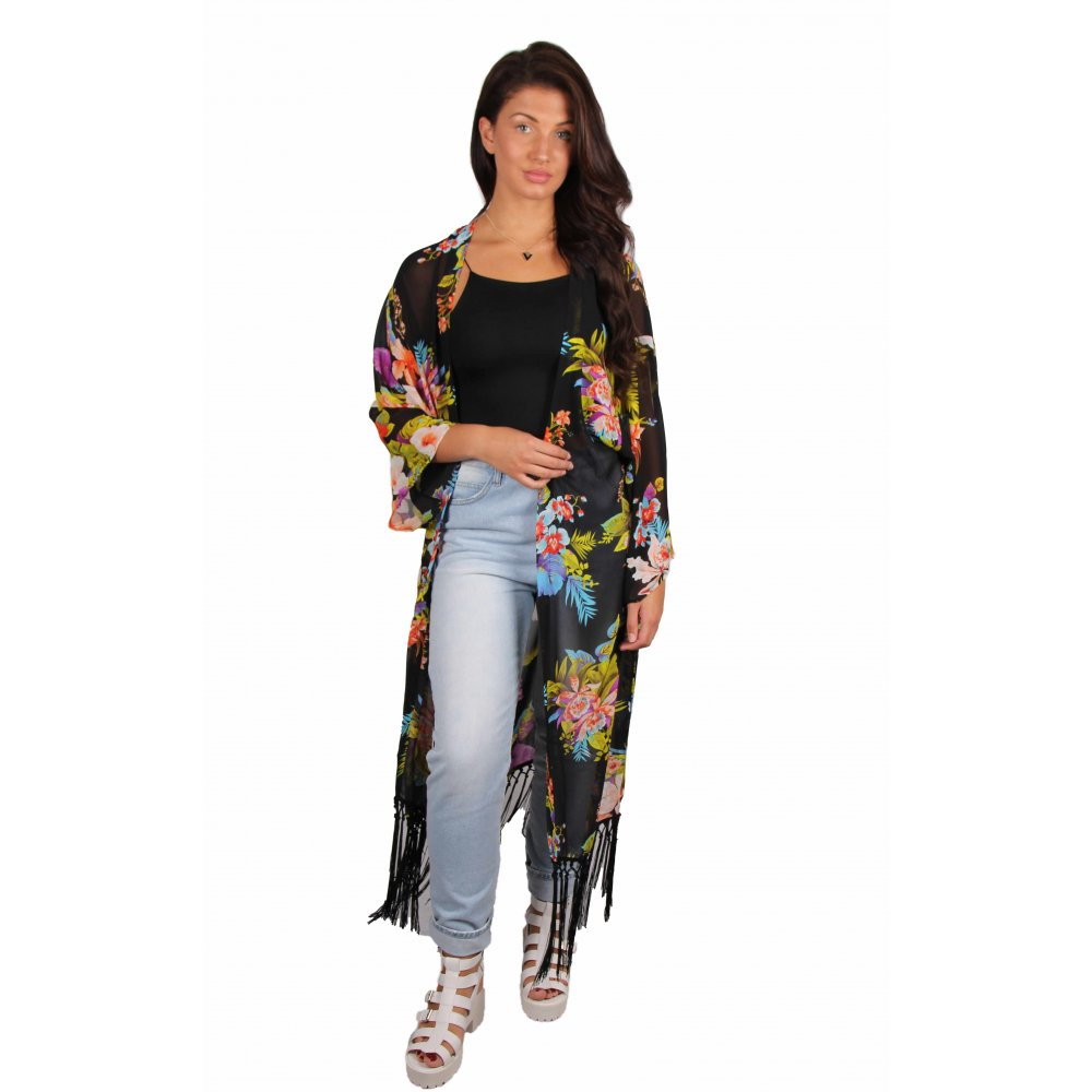 Shop for a long woven floral kimono at fascinatingnewsvv.ml Read reviews and browse our wide selection to match any budget or occasion.