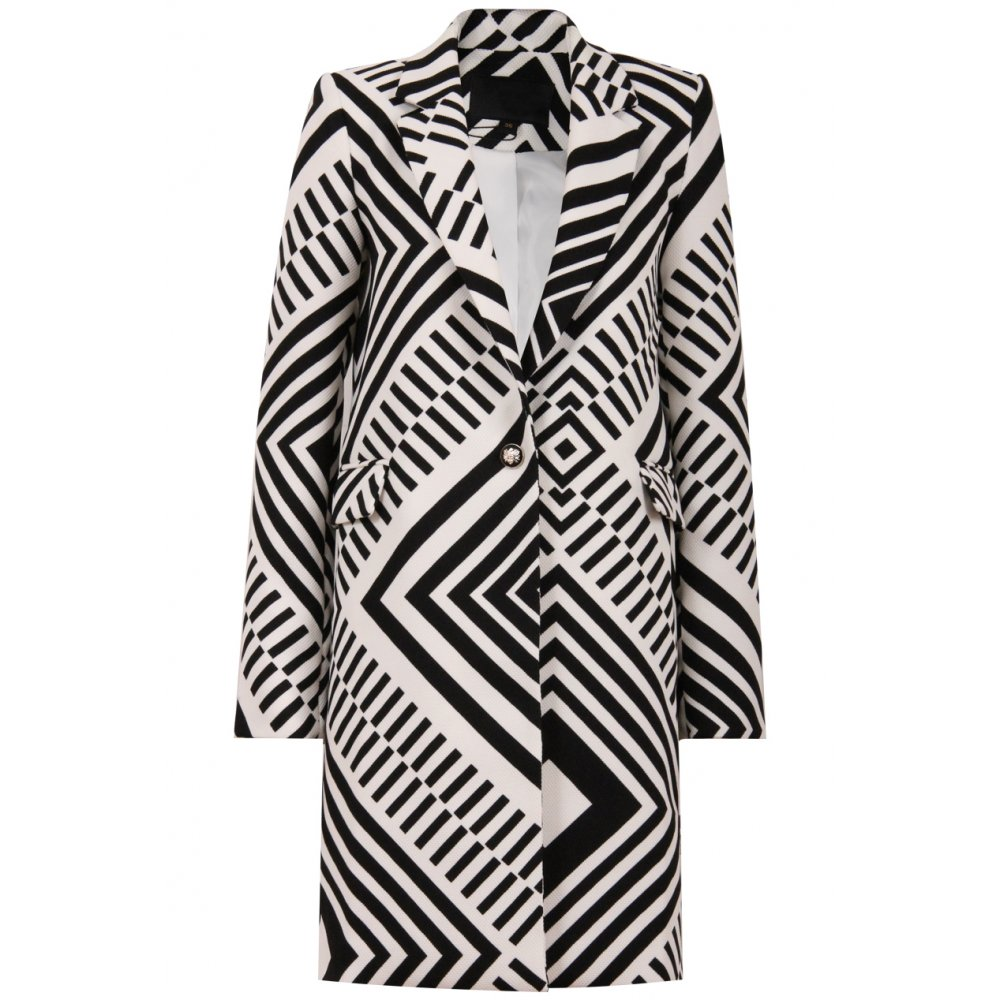 Find great deals on eBay for black and white coat. Shop with confidence.