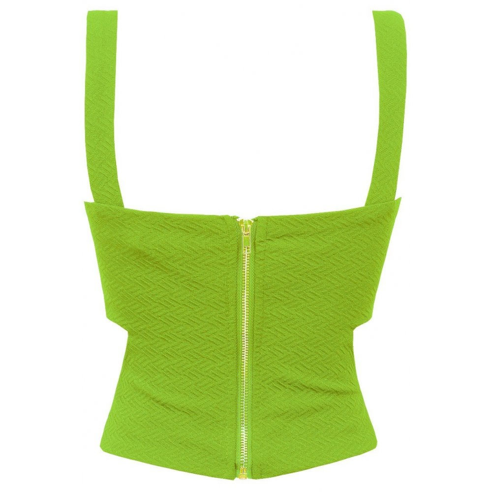 top neon green and - photo #2