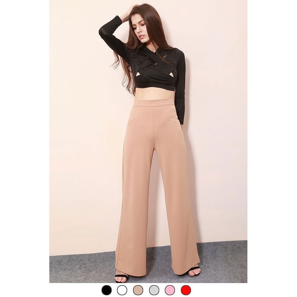 Showing selected results. See all results for high waist wide leg pants for women.