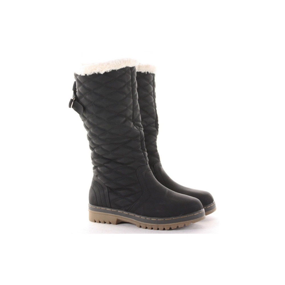 Shop black quilted boot at Neiman Marcus, where you will find free shipping on the latest in fashion from top designers.
