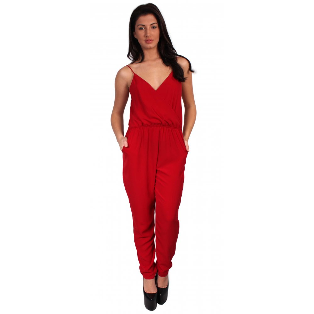 Home clothing jumpsuits amp playsuits red jumpsuit