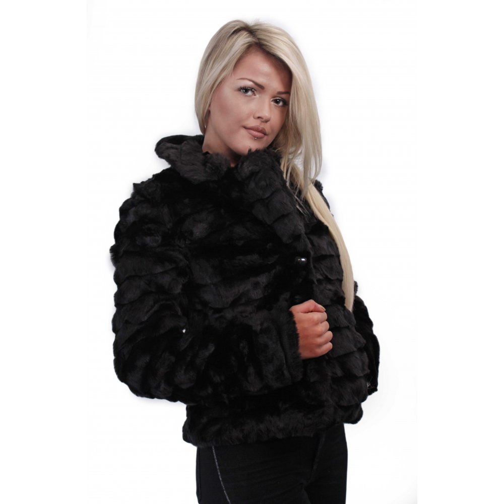 Similiar Black Fur Jacket Keywords