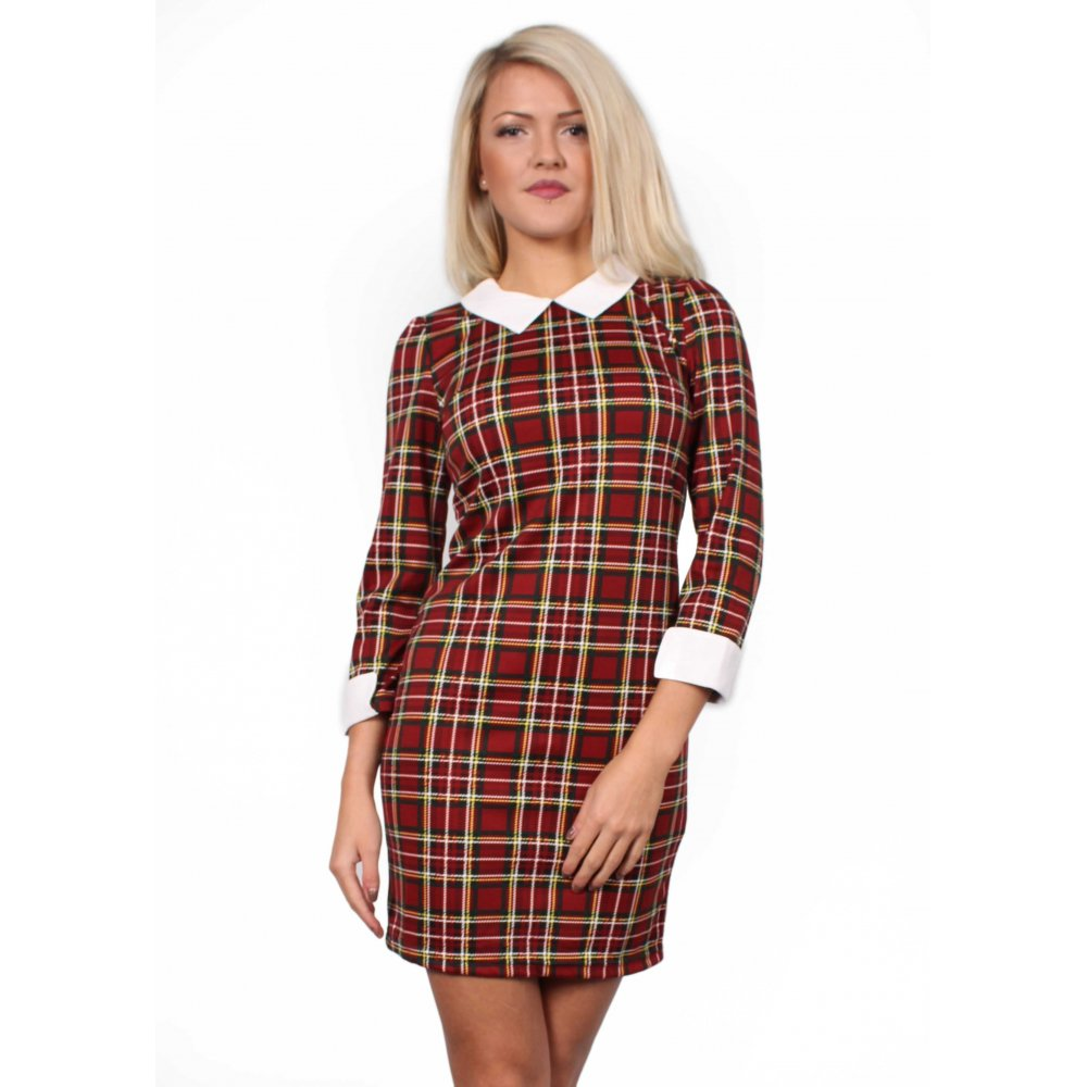 Primark tartan dress White collar on neckline Size 6 Zip fastening on back of dress Check out my other items as I'm having a clear out. Tartan dress £ 3 bids + £ P&P. womens primark size 10 Dress Red Tartan With Cold Shoulders. £ 0 bids + £ P&P.
