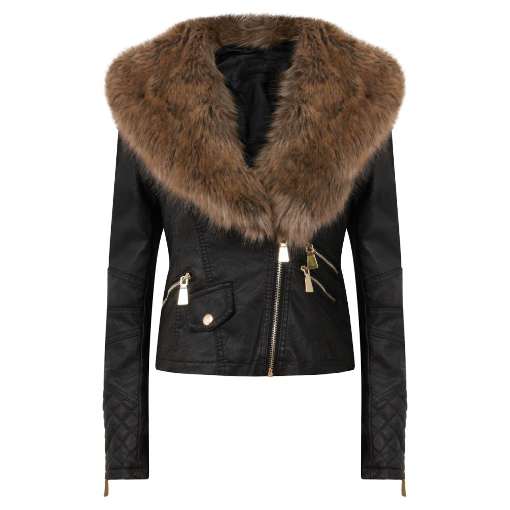 Find great deals on eBay for leather fur jacket. Shop with confidence. Skip to main content. eBay: Shop by category. Shop by category. Enter your search keyword Mens Fur Leather Jacket Winter Business Warm Gentlemen Lapel Motorcycle Coat new. Unbranded. $ Buy It Now. Free Shipping.