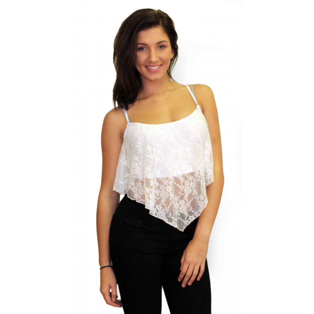 Buy the latest white lace tank top cheap shop fashion style with free shipping, and check out our daily updated new arrival white lace tank top at tanahlot.tk